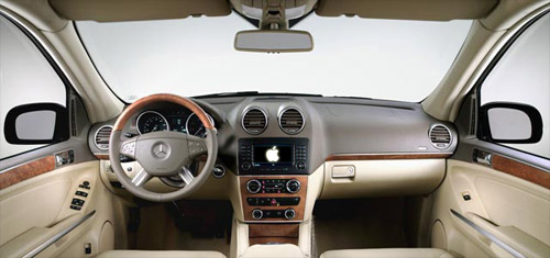 Mercedes Apple GPS System