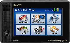 Sanyo NVM-4070 GPS Navigation System