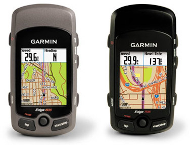 Garmin Edge 605 and Edge 705