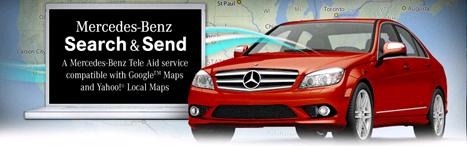 Mercedes Google Yahoo