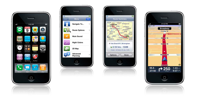iPhone GPS System